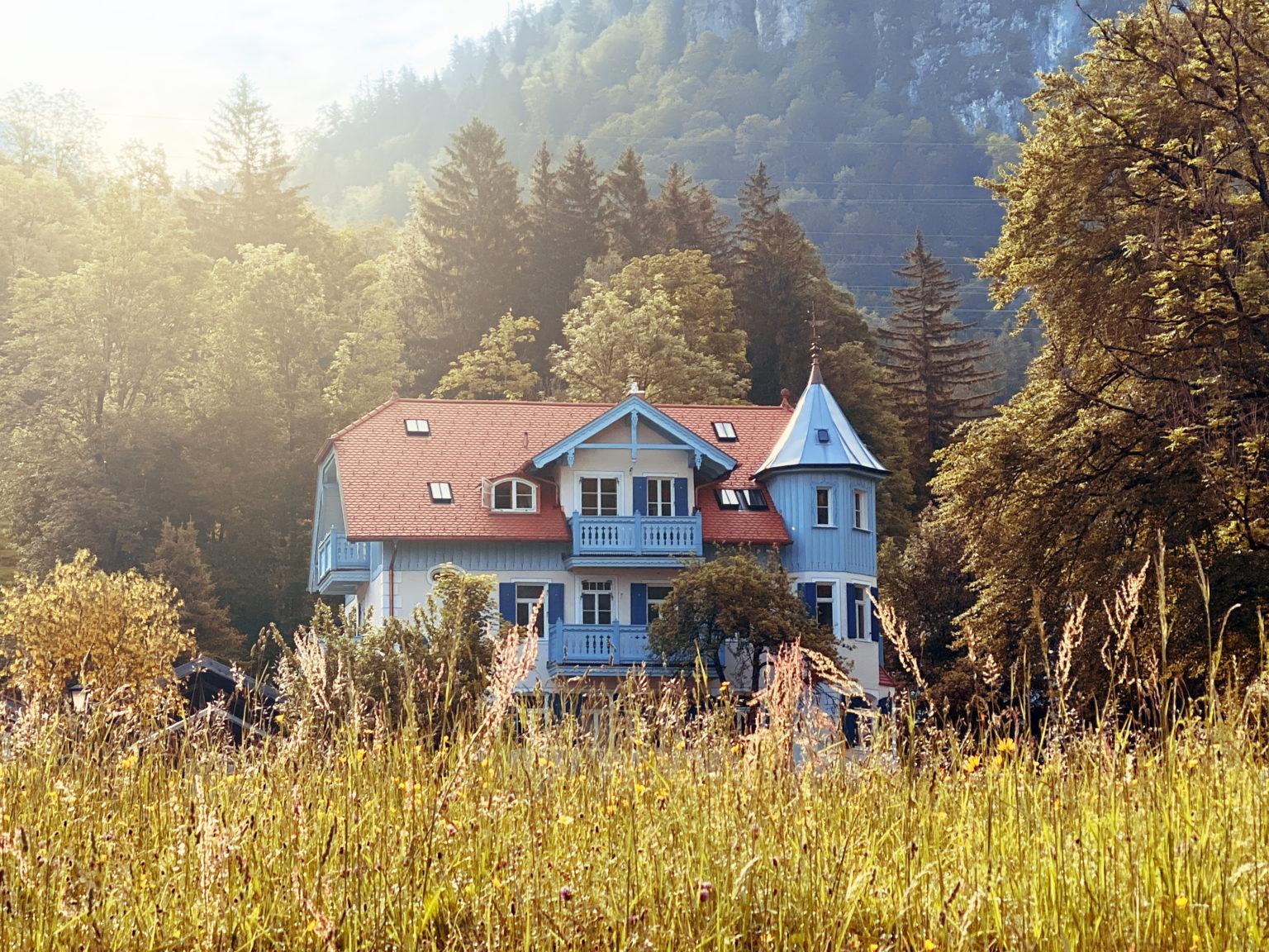 Villa Heimgarten Außenansicht